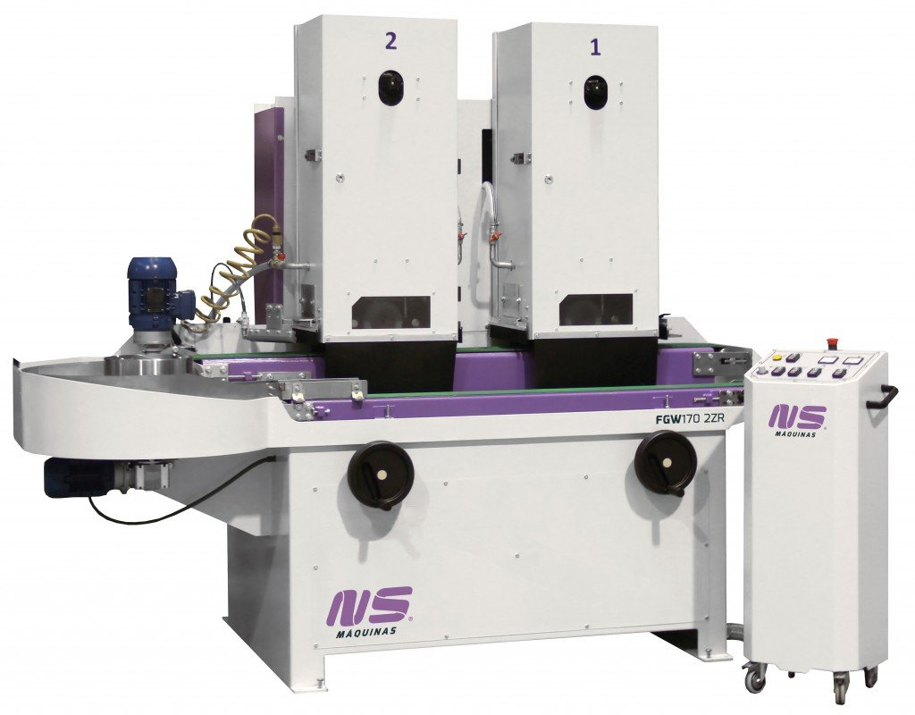 Flat bar and Rectangular Tube Finishing Machines - FGW170