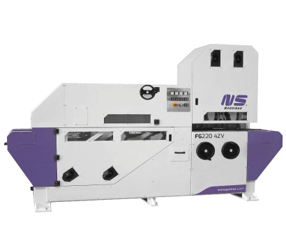 Flat Bar and Rectangular Tube Finishing machines – FG2204Zv
