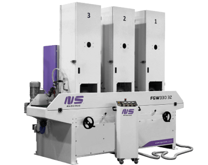 Flat Bar and Rectangular Tube Finishing machines – FGW330-3Z