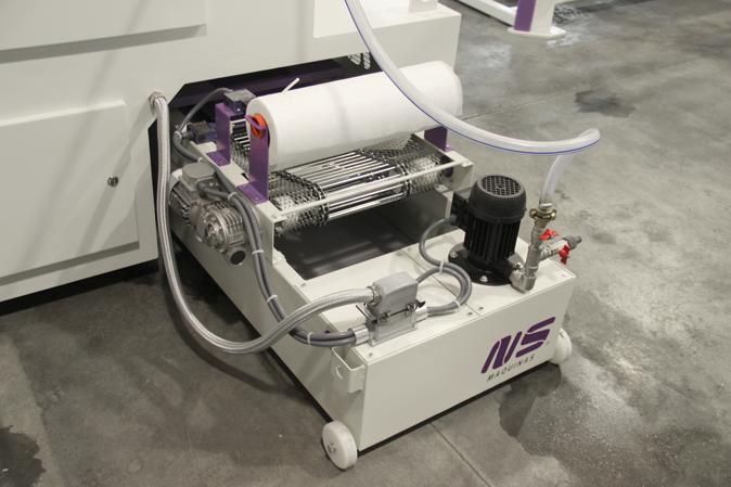 Round Tube Finishing Machine - MLW200 máquina esmeriladora de tubo
