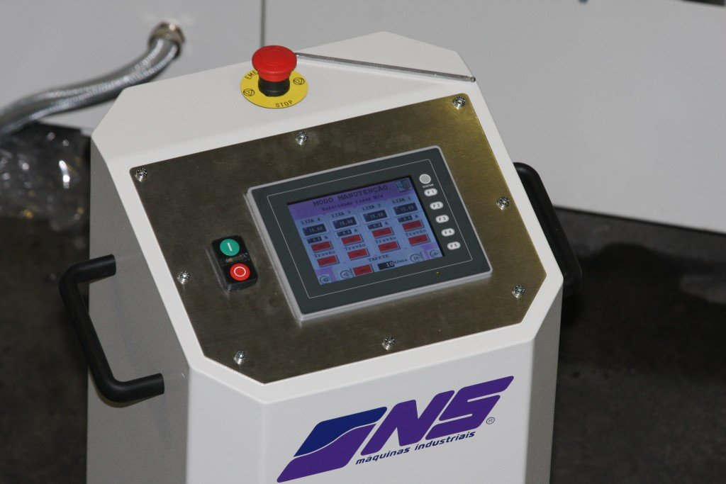 Flat bar and Rectangular Tube Finishing Machines - FGW1704ZV