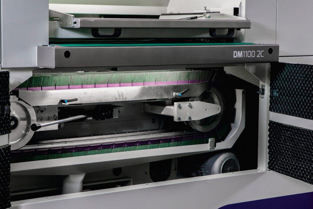 Cross Belt Technology - Metal Deburring machine