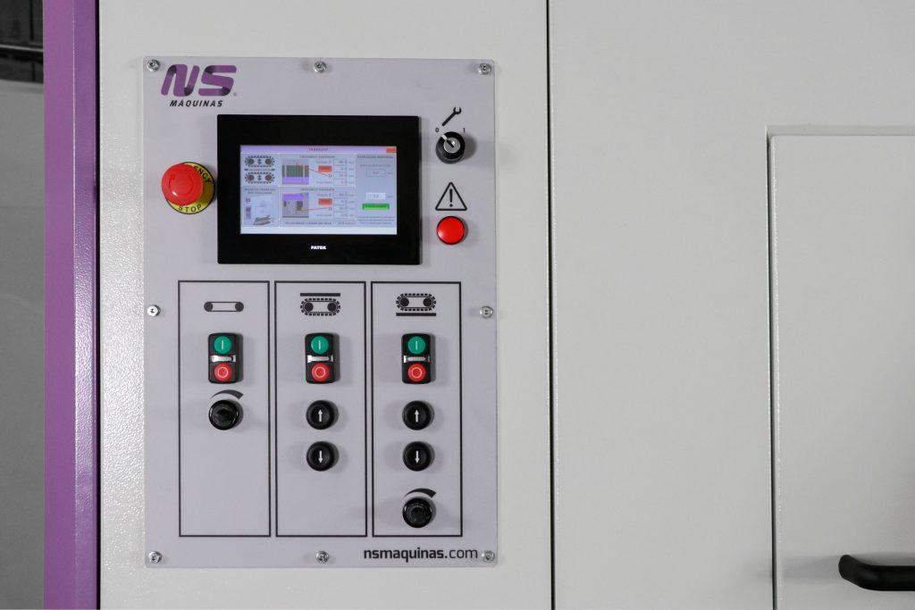 metal deburring machine - Machine Control Panel