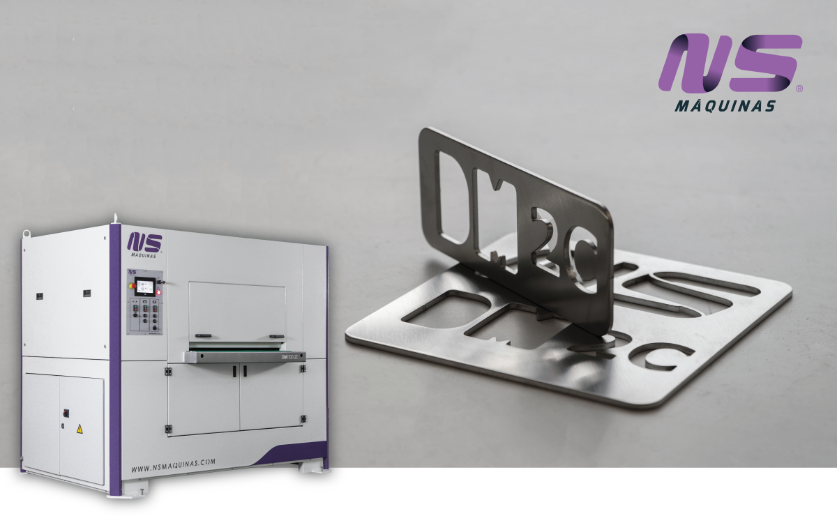 Metal Deburring Machines - DM1100 - NS Máquinas