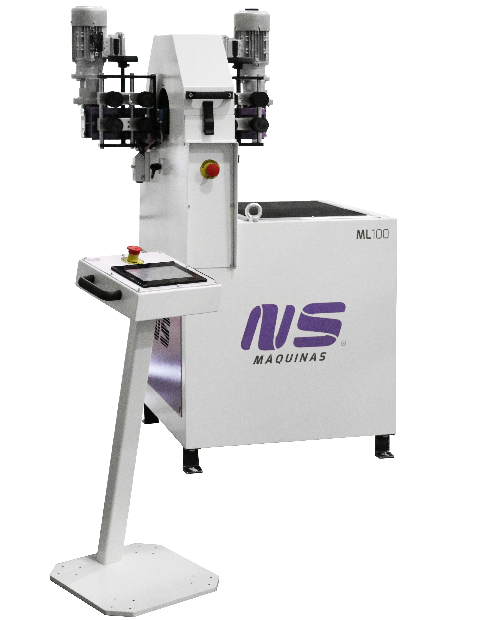 ML100 Tube Polisher with Touchscreen