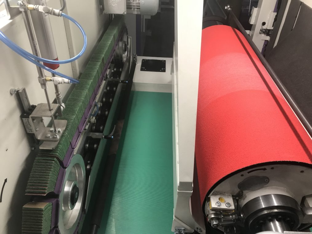DM1100 DC - deburring and edge rounding machine