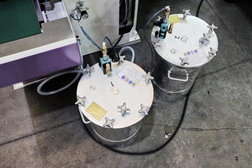 liquid compound tanks for mirror polishing process