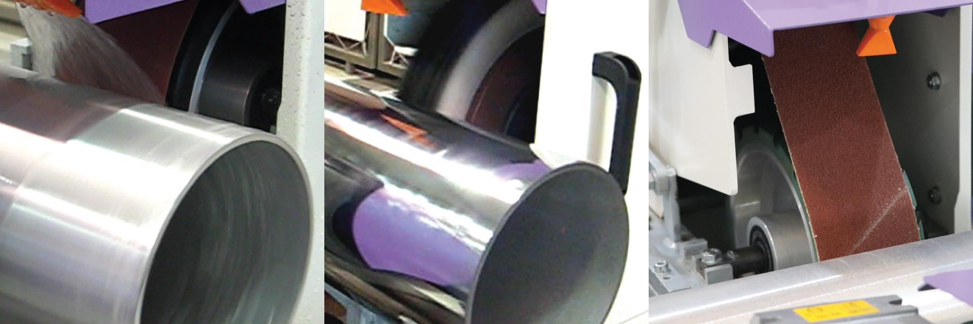 mirror polishing surface finishing machine